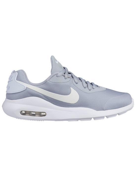 best service 46c4d d4477 Nike Air Max Oketo Junior Trainers - Grey White