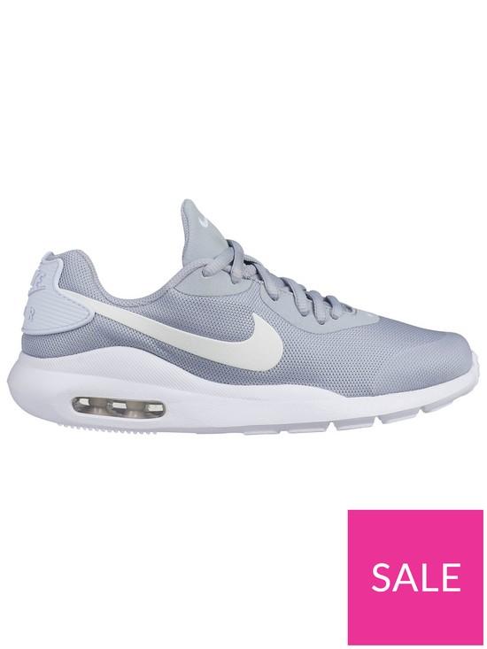 best service d7159 80a2a Nike Air Max Oketo Junior Trainers - Grey White