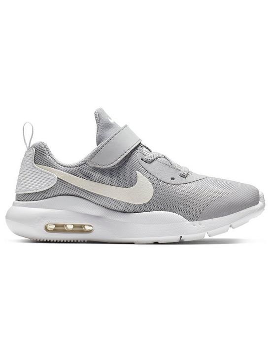 low cost 8d698 5e306 Nike Air Max Oketo Childrens Trainers - Grey White