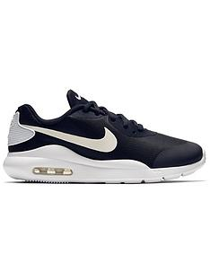 best website 30611 6815c Nike Air Max Oketo Junior Trainers - Black White