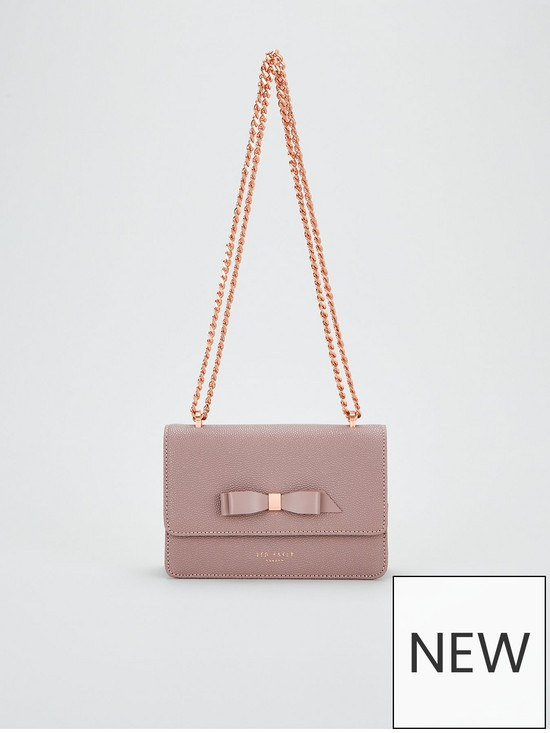 212ae40f06a Ted Baker Jayllaa Bow Detail Micro Cross Body Bag - Pink | very.co.uk