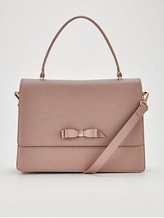 ted-baker-joaannbspbow-detail-lady-bag-pink