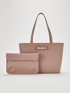 348933f99e Ted Baker Jjesica Bow Detail Shopper Tote Bag - Pink