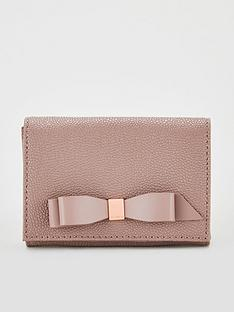 ted-baker-leonyynbspbow-flap-mini-purse-pink
