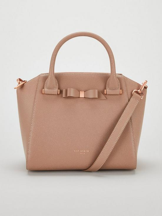 470625d7a897f Ted Baker Janne Bow Detail Zip Tote Bag - Taupe