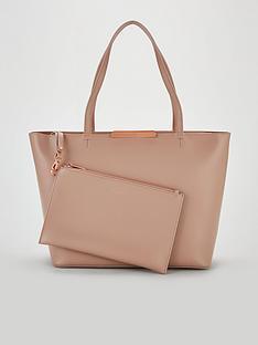 ted-baker-jackkinbspfaceted-bow-mini-bark-shopper-bag-taupe