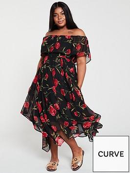 v-by-very-curve-bardotnbspchoppy-midi-dress-floralprint