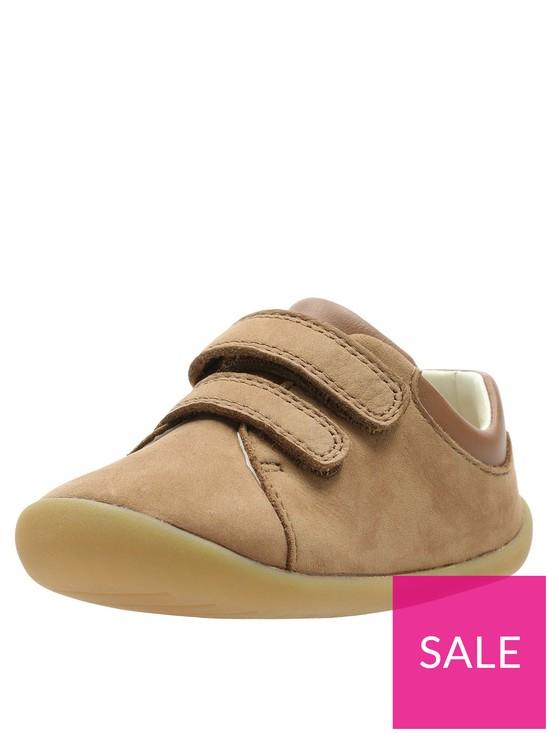 fccd89af4d447 Clarks Toddler Roamer Craft Leather Shoes - Tan | very.co.uk