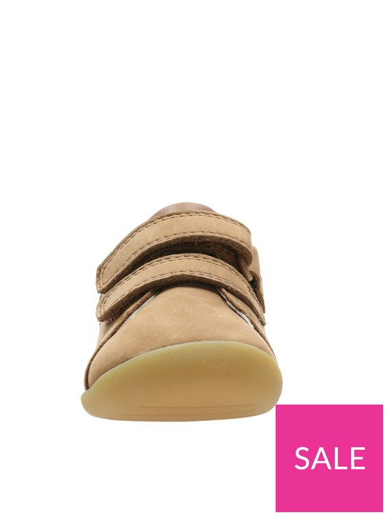 4ae4d8a443c4c ... Clarks Toddler Roamer Craft Leather Shoes - Tan. View larger