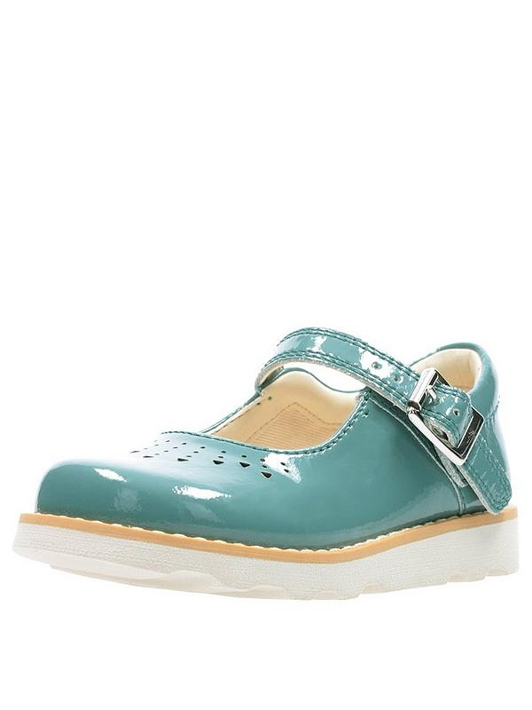 0e39257ae65d30 Clarks Toddler Crown Jump Shoes - Teal | very.co.uk