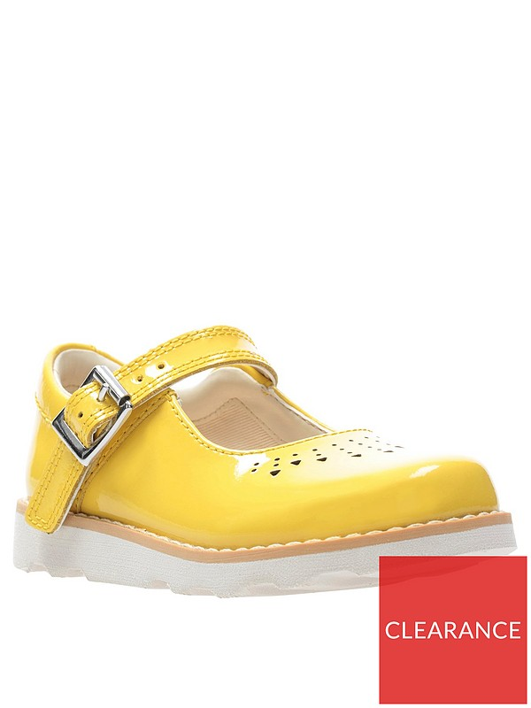 Toddler Crown Jump Shoes Yellow