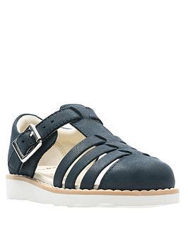 clarks-crown-stem-leather-sandal