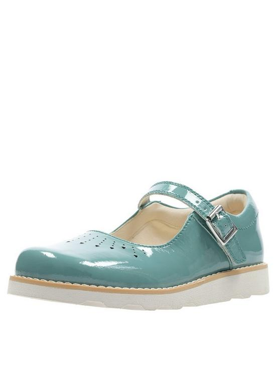 cd8470e59ac6 Clarks Girls Crown Jump Shoes - Teal