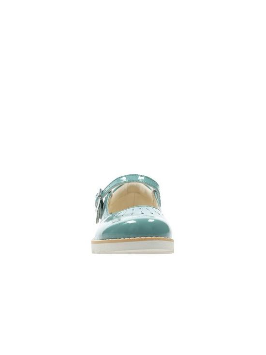 f2002872c15a ... Clarks Girls Crown Jump Shoes - Teal. View larger