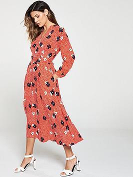 whistles-confetti-floral-print-midi-dress-red-multi