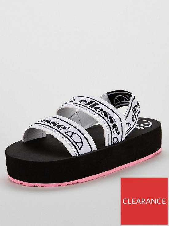 d47c436078c Giglio Sandals - White/Black/Pink