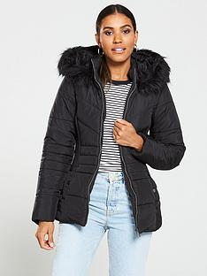 51c57c0e2 Quilted Jackets | Padded Coats | Very.co.uk