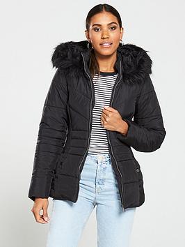 v-by-very-short-faux-fur-trim-padded-jacket-black