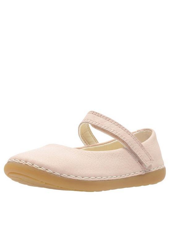 774e1e35d1 Clarks Toddler Skylark Tap Ballerina - Pink | very.co.uk