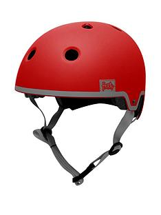 FERAL Park Helmet 54-58cm Red/Grey