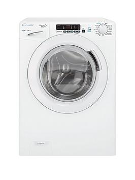 Candy Grand'O Vita Gvs148Dc3 8Kg Wash, 1400 Spin Washing Machine With Smart Touch - White