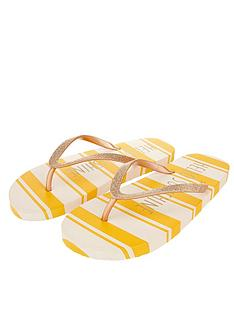 accessorize-hello-sunshine-stripe-eva-flip-flops-yellow