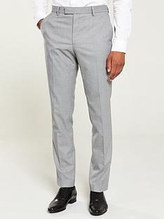 river-island-grey-textured-skinny-suit-trousers