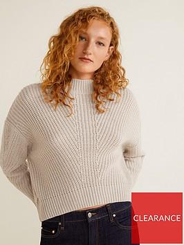 mango-knitted-jumper-light-grey