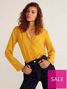 mango-lepel-shirt-yellow