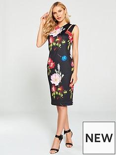 2afab8933ba Ted Baker Ted Baker Polayo Berry Sundae Asymmetric Dress