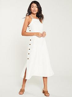 whistles-nina-button-linen-dress-white