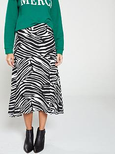 whistles-zebra-print-skirt-black-white