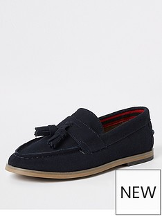 river-island-boys-navy-tassle-loafers