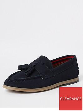 river-island-boys-navy-tassle-loafers