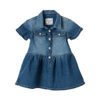 fbe9cdf0 Levi's Baby Girls Denim Shirt Dress - Indigo | very.co.uk