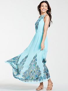 michelle-keegan-printed-woven-maxi-dress-paisley-print