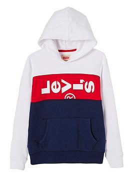 levis-boys-colourblock-lazy-logo-hooded-sweat-top-blue