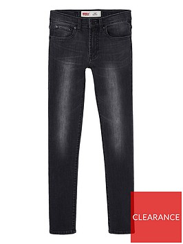 levis-boys-510-skinny-black-washed-jeans--nbspblack