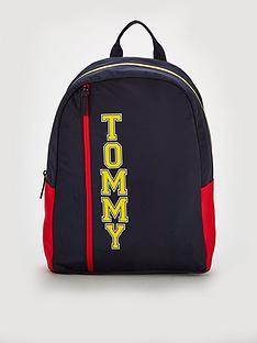 tommy-hilfiger-logo-backpack