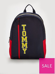 tommy-hilfiger-logo-backpack