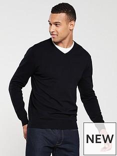 v-by-very-v-neck-jumper-black