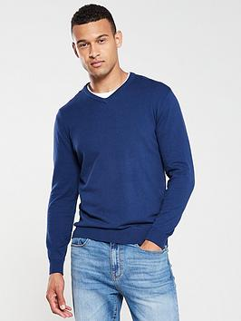 v-by-very-v-neck-jumper-navy-blue