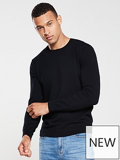 v-by-very-crew-neck-jumper-black