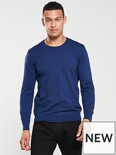 v-by-very-crew-neck-jumper-navy-blue