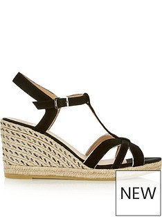 kanna-sienna-suede-open-toe-mid-height-wedges-black