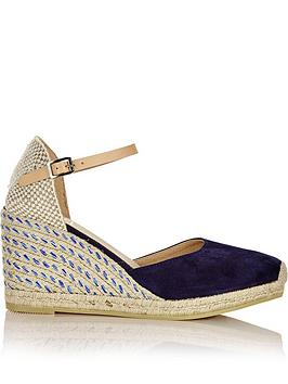 kanna-siena-suede-closed-toe-mid-height-wedges-navy