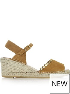 kanna-ania-eyelet-detail-open-toe-mid-height-wedges-tan