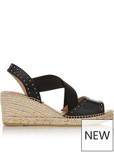 kanna-ania-crossover-stud-detail-wedgesnbsp--black