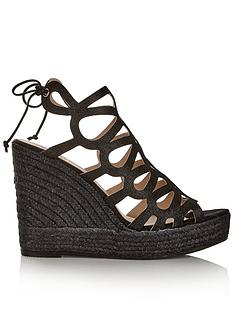 kanna-sofia-glitter-cut-out-wedges-black
