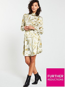 v-by-very-high-neck-printed-skater-dress-paisley-print